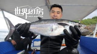 菲律宾渔民潜水捕猎金枪鱼