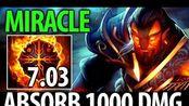Miracle- Dota2 [灰烬之灵] 7.03 Flame Guard- M-God es mi Pastor