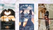 9个浪漫婚礼和喜帖动画PR素材 - macdown.com