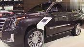 美式大七座商务suv凯迪拉克凯雷德,四驱6.2L售价148万