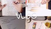 【Rocco】vlog 2.11~2.12 | 第一个投稿 | 做早饭 | 遛狗 | 做作业 | 看书写手帐 | 看电影哭成狗 |