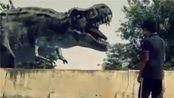 侏罗纪公园霸王龙之战