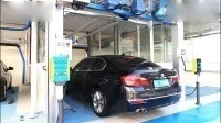 全自动无刷洗车机洗车效果 洗车机能洗干净吗