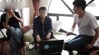 围棋TV家访聂卫平 孔令文陪父亲看极速对抗赛