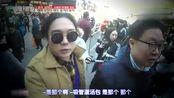 韩国明星到上海豫园吃美食,两个人吃一个灌汤包,画面很喜感