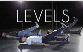 【亚裔混血帅哥Kyle Hanagami】最新编舞Levels