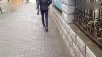 昂首向前 腿模 漫步人生路 处处都是T台 时时都是走秀