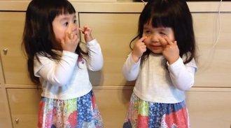 双胞胎萝莉,真的很萌很萌