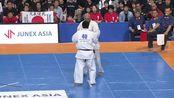 【新極真会】第十二回世界大会二回战15 man Angelo Olivares vs Kazuya Yamamoto