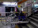首尔地铁的残疾人专用升降车