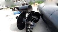 凯澳2014年7月WD180履带式小型旋挖钻机装车视频