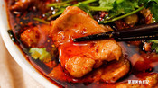 【水煮肉片】越辣越过瘾,吃得我停不下来-菜菜美食日记-菜菜美食日记