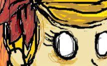 新人【画图鼠绘】《饥荒》温蒂 角色人物乱涂