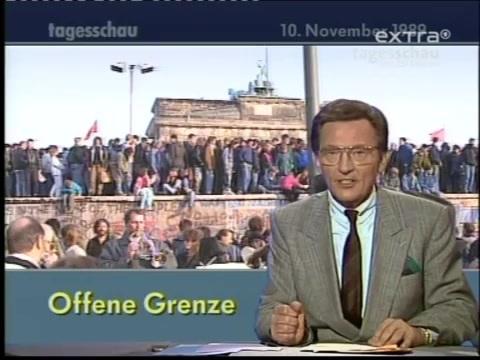 柏林墻倒塌當天的德國新聞,德國人欣喜萬分