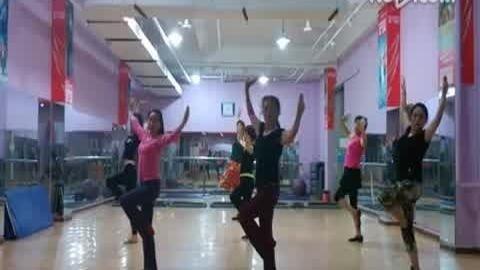 马兰花 蒙古舞 宜舞儿的舞蹈