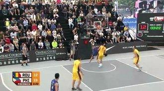 FIBA3x3—菲律宾队十佳球