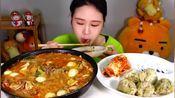 韩国弗兰西斯卡小姐姐吃麻辣烫,不能出街的忧伤!