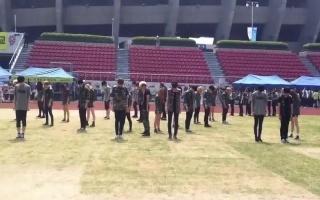 韓國學生校运会群舞#02