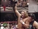 WWE Raw1997 HHH vs 肖恩·迈克尔斯 欧洲冠军赛