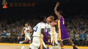 【星灵】NBA2K库里杜兰特勇士32战vs湖人:詹姆斯能否复仇成功?