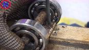 牛人找来两个轴承,没想到制作成这个实用工具,真是脑洞大开!