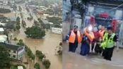 福建龙岩暴雨逾4.2万人受灾,消防水中救援泡到脚烂发皱