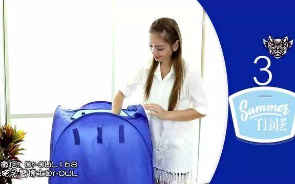 可收纳干衣机(加强静音定时功能)50*50*高90cm短时间内快速干衣!风靡英、美、法、德、日、韩热卖!