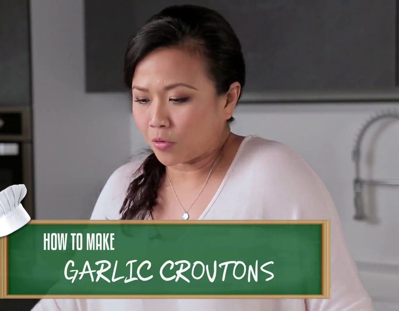 How To Cook Garlic Croutons