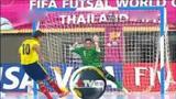 五人制世界杯足球赛  泰国 球场变小