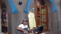 花莲七星潭唱歌的吉他大叔