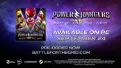 Power Rangers: Battle For The Grid 恐龙战队格斗9/24日登陆PC