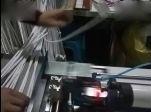 顶俏自动化电线对折贴标机视频