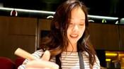 台湾美女游大陆的上海法租界,声音好像林志玲,超喜欢海底捞!
