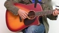 吉他基础乐理《月亮代表我的心》吉他入门六线谱