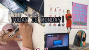 Monday VLOG 我的周一日记 好丽友派新吃法·装饰房间 Room Decor·mini歌厅·感受春天! SoL.
