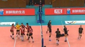 女排联赛第17轮,北京女排3:0横扫八一女排!
