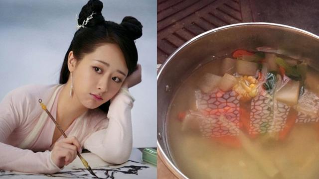 杨紫为了减肥吃水煮菜 星爷电影里的龙套,如今一夫三妻