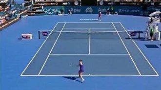 悉尼赛-拉德万斯卡横扫晋级决赛 将与孔塔争冠