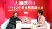 人民网-人民网专访中信国安集团有限公司总经理刘鑫