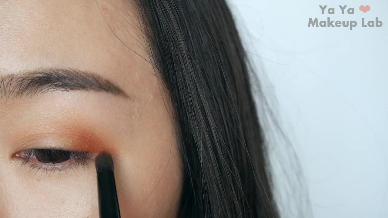 眼妝║暖橘的夕陽妝容~Anastasia文藝復興眼影盤