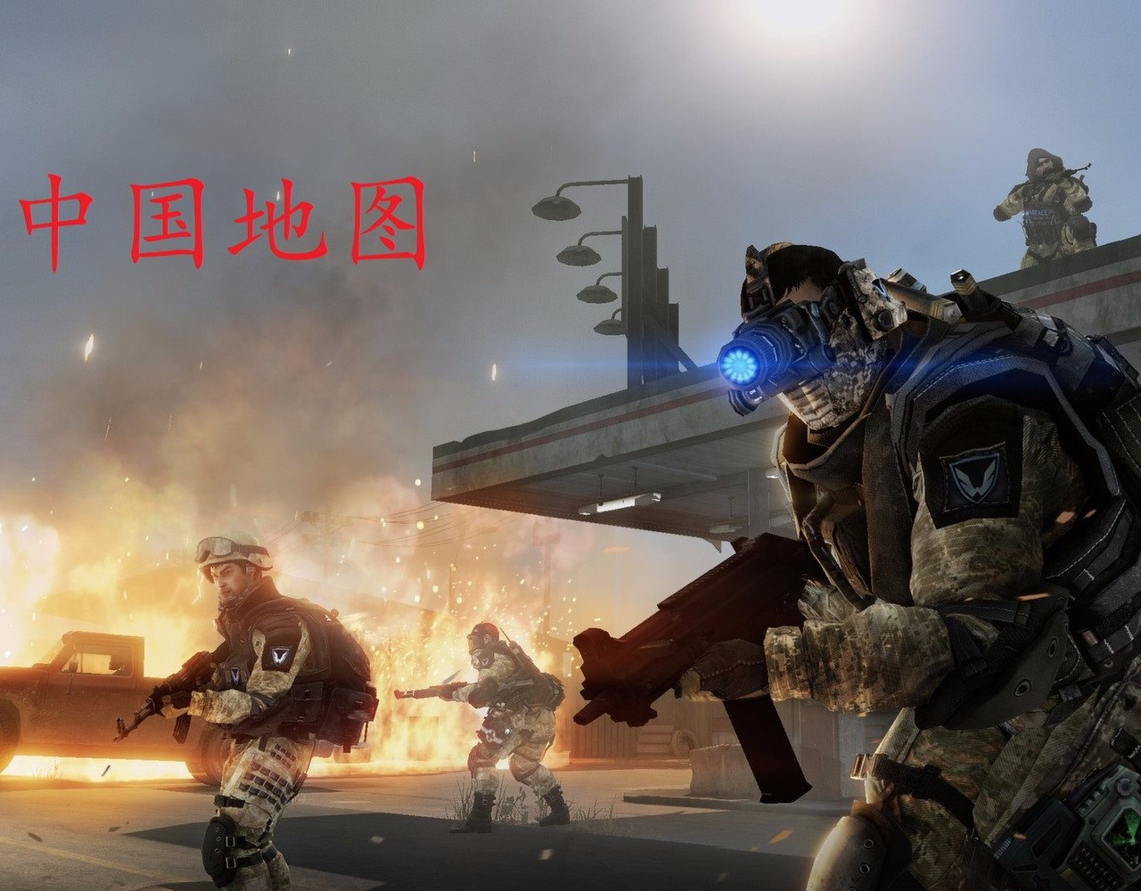 (Warface)我居然在中国用霰弹与狙对撸?!
