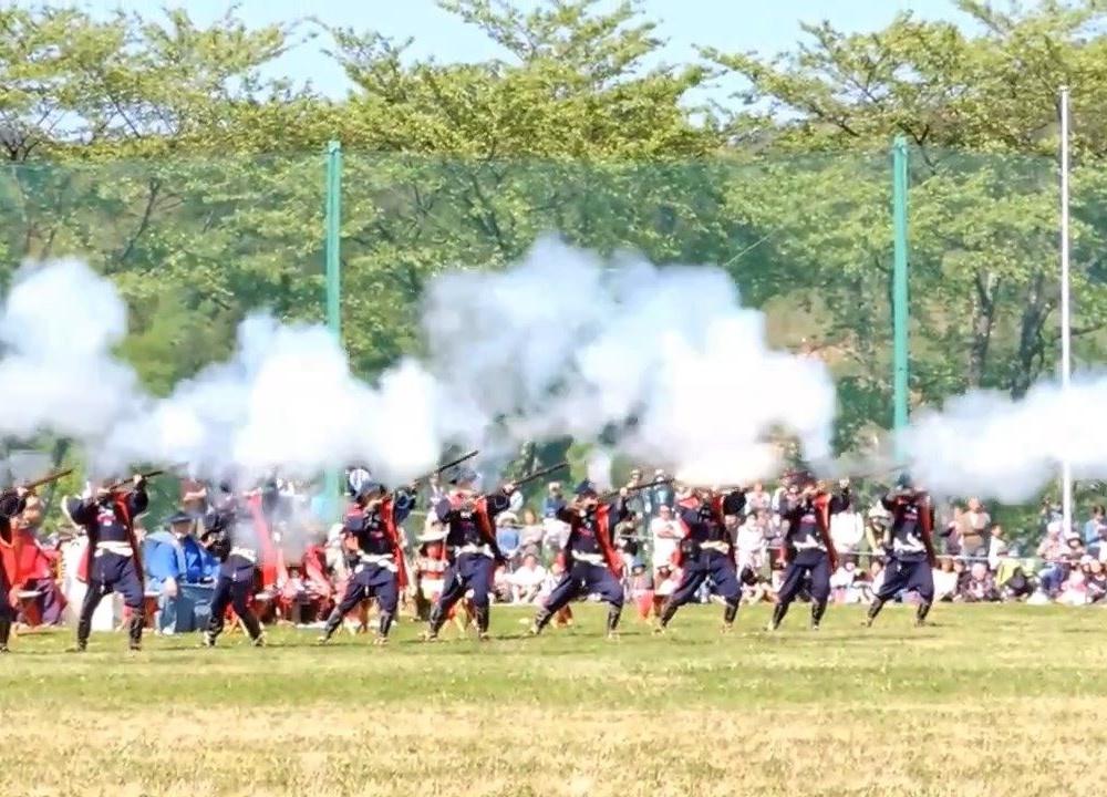 花山鉄砲祭 2015