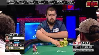德州扑克:冠军还是得有运气