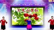 香奈儿广场舞《又见山里红》