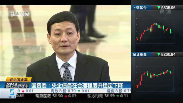国资委:央企债务在合理程度并稳定下降