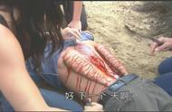 男子渡河遭恐怖吸血怪物吸附在背上
