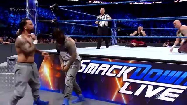 WWE SmackDown最新赛事:乌索兄弟 vs 天神双煞