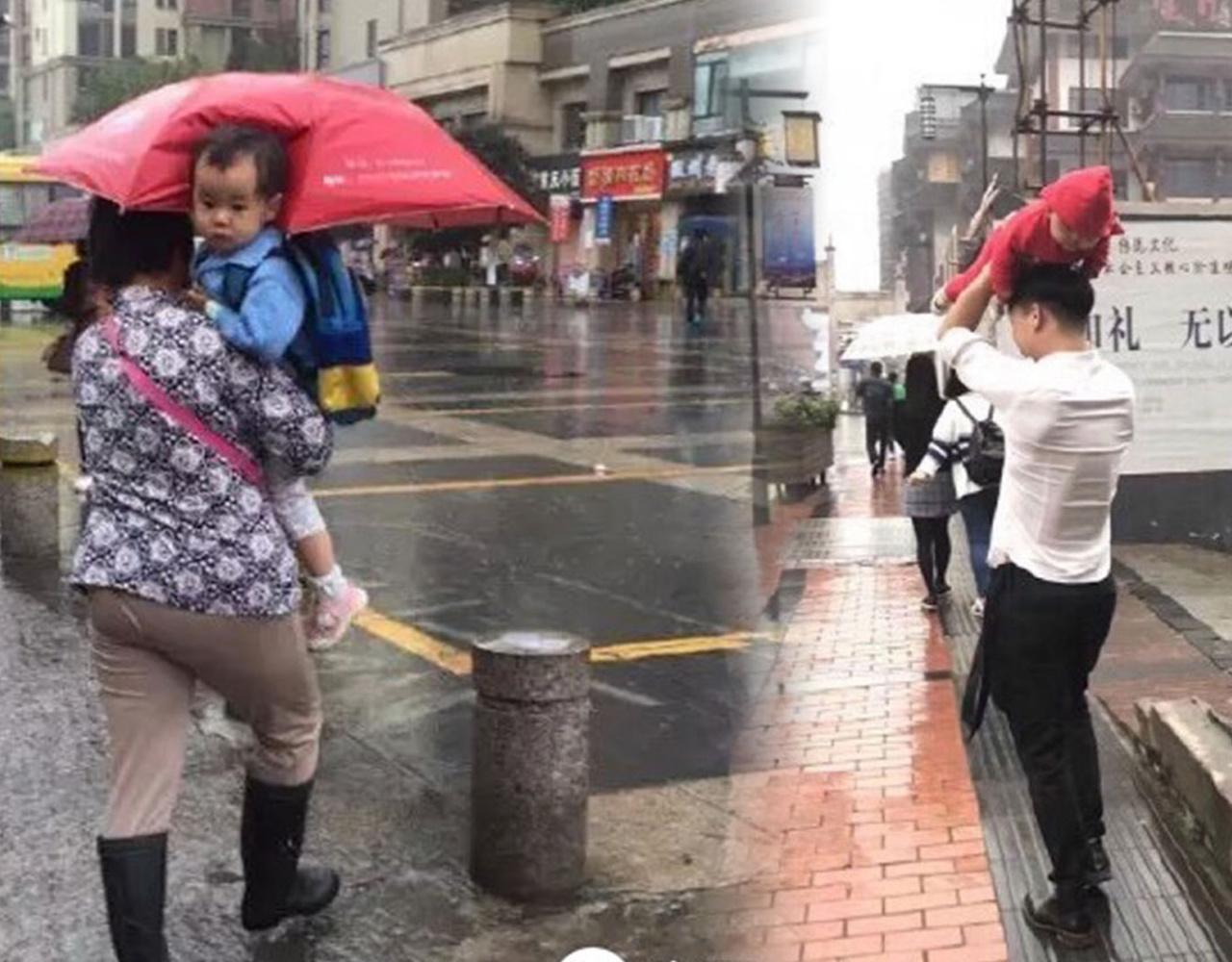 台风万象,他说风雨中这点痛算什么
