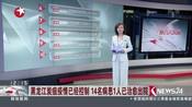 黑龙江炭疽疫情已经控制  14名病患1人已治愈出院