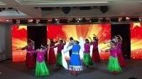 舞蹈北京的金山上